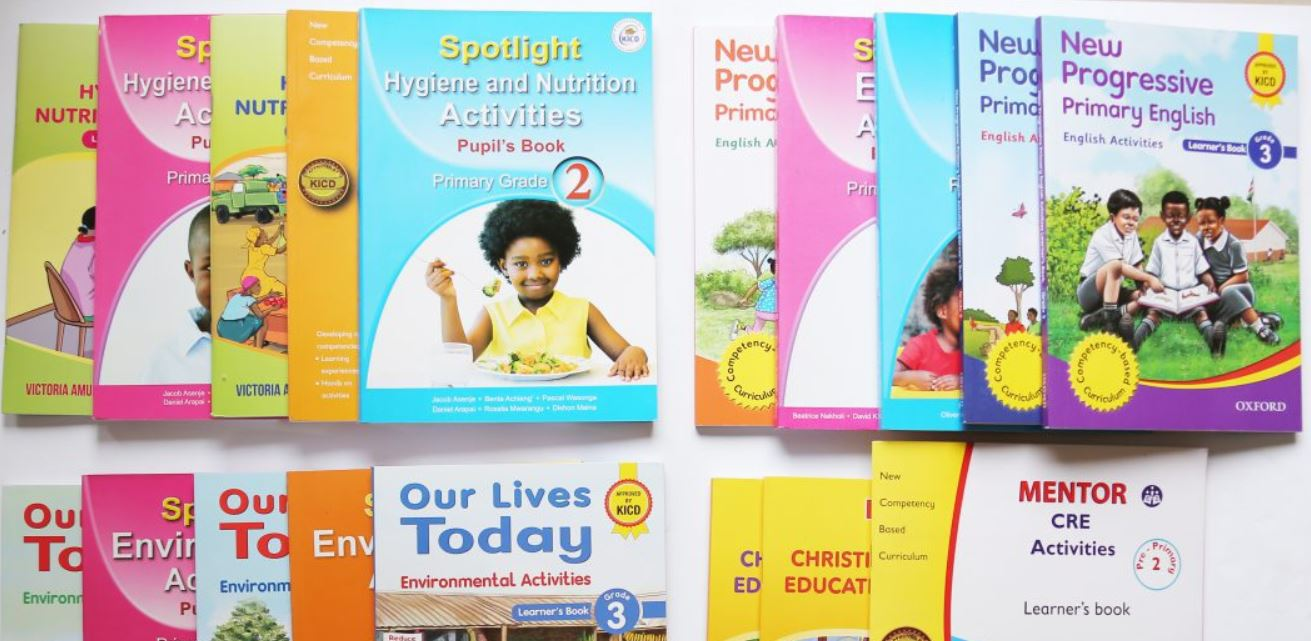 CBC Grade 3 approved textbooks in kenya