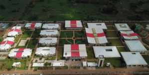 Mpesa Foundation academy aerial view photos of school
