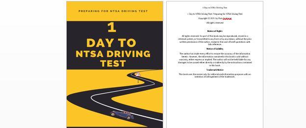 Preparing for NTSA driving test ebook