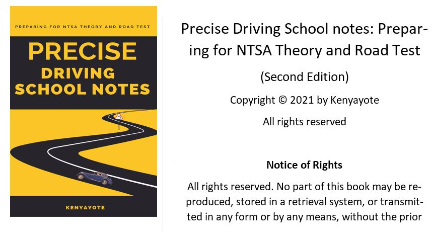 driving school notes ebook