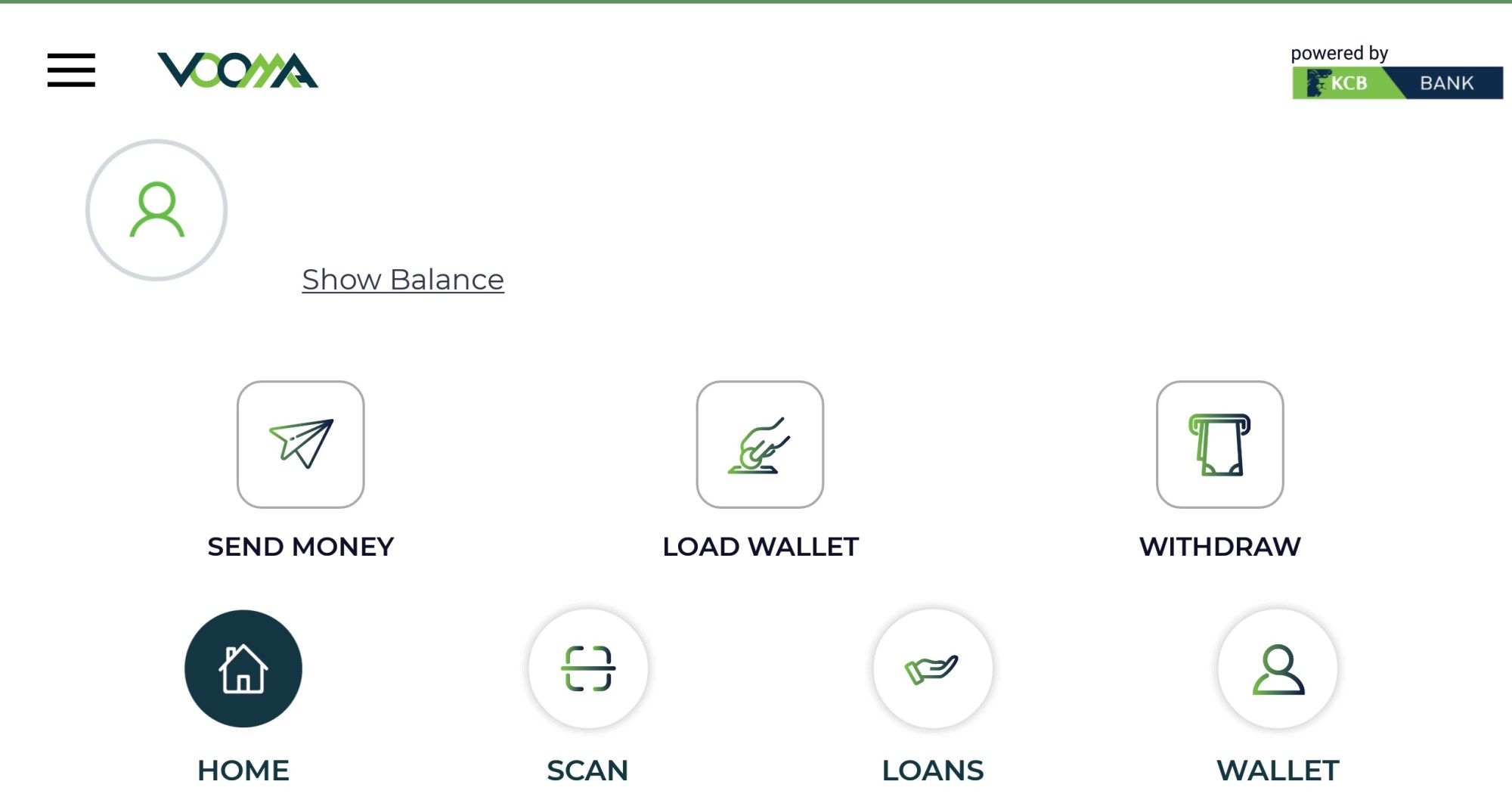 how Vooma App by KCB it works, Loan borrowing, Mpesa withdrawal and deposit