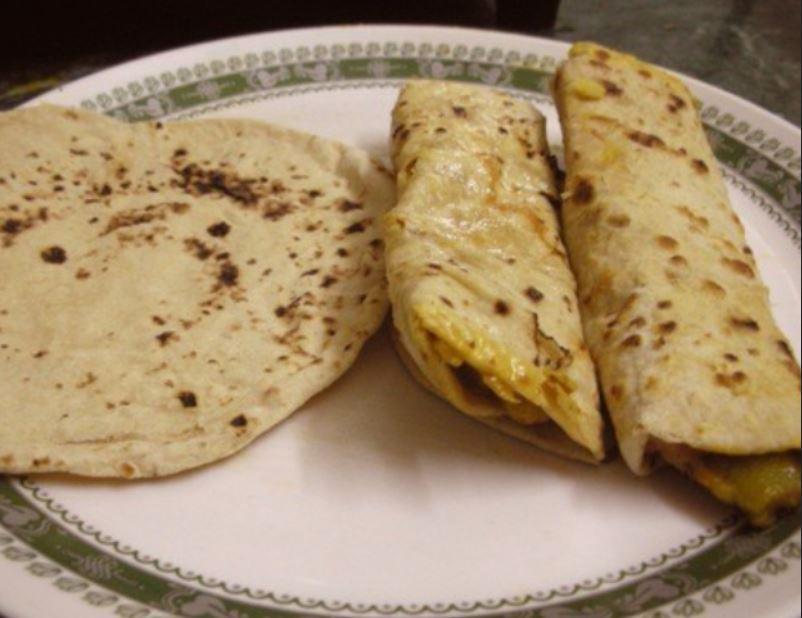 Kenyan Breakfast Chapati food