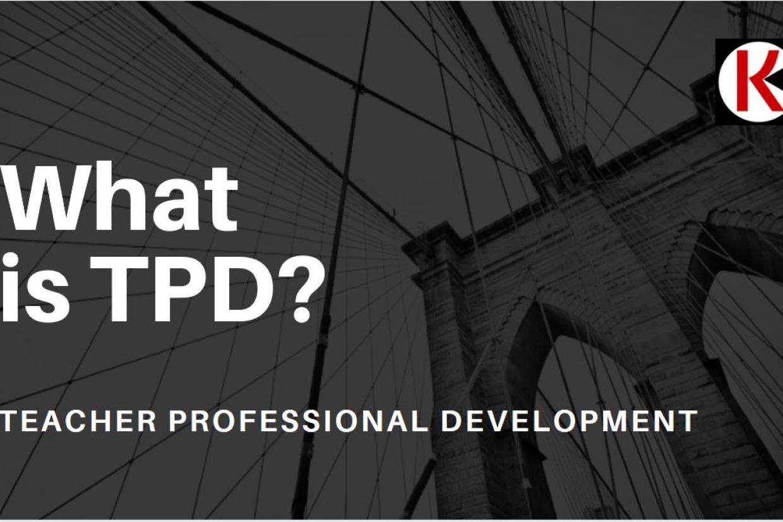 Teacher Professional Development modules