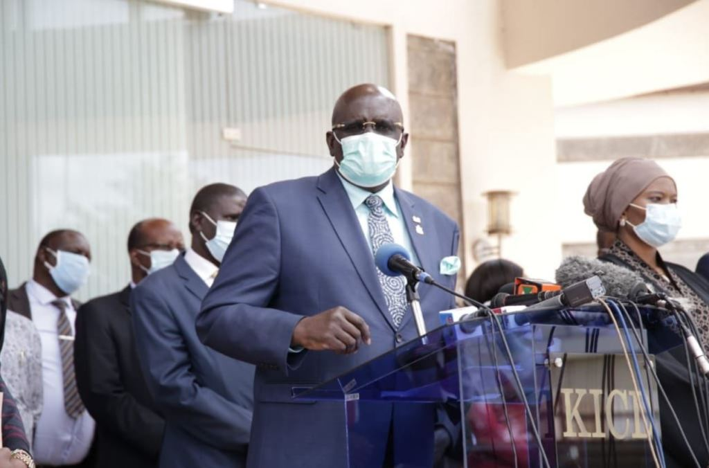 CS Magoha on re-opening of schools in kenya