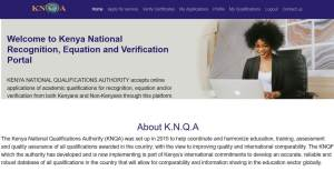Equation and verification of qualification certificates in Kenya