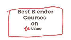 best Blender Courses on Udemy