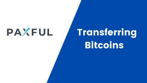 Transferring Bitcoins from Paxful to localbitcoins