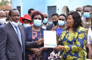Wiper Party Machakos Senate by Election candidate Agnes Kavindu Muthama