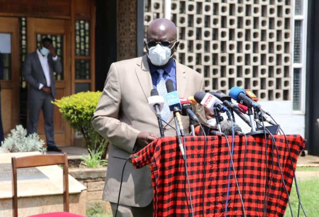 George magoha on re-opening of schools and release of KCSE 2021 exams