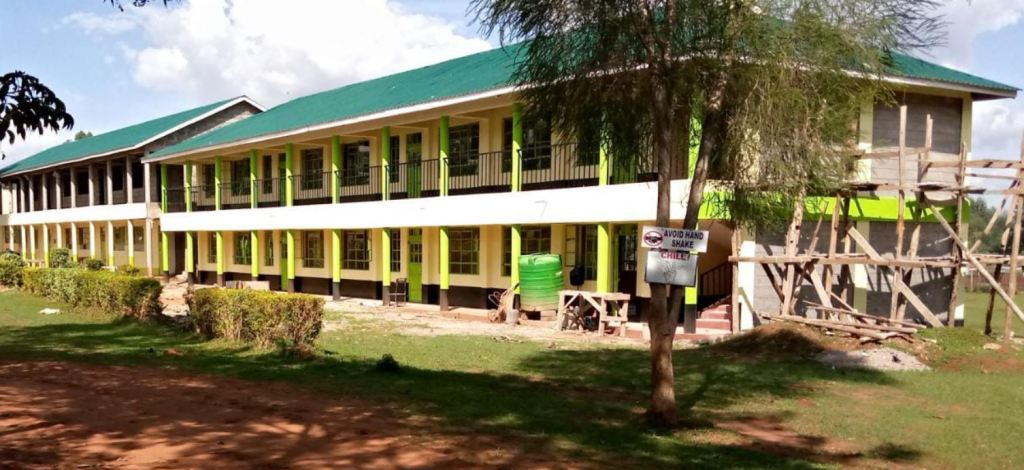 Michael Wamalwa Kijana Memorial Secondary School cdf building