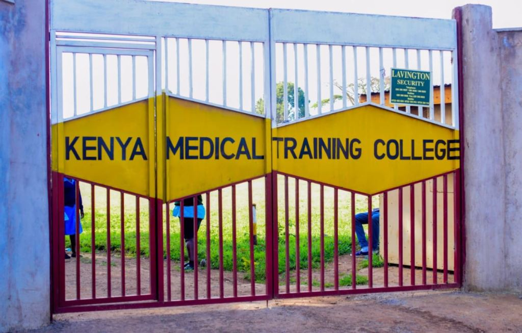 KMTC admission letter ready for download from student portal