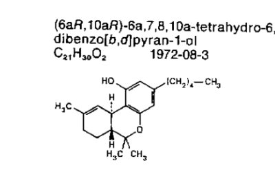 There is Dronabinol in your Cannabis (resources on the INNs dronabinol and cannabidiol)