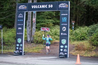 Coming through the finish line - Photo by Teri Smith