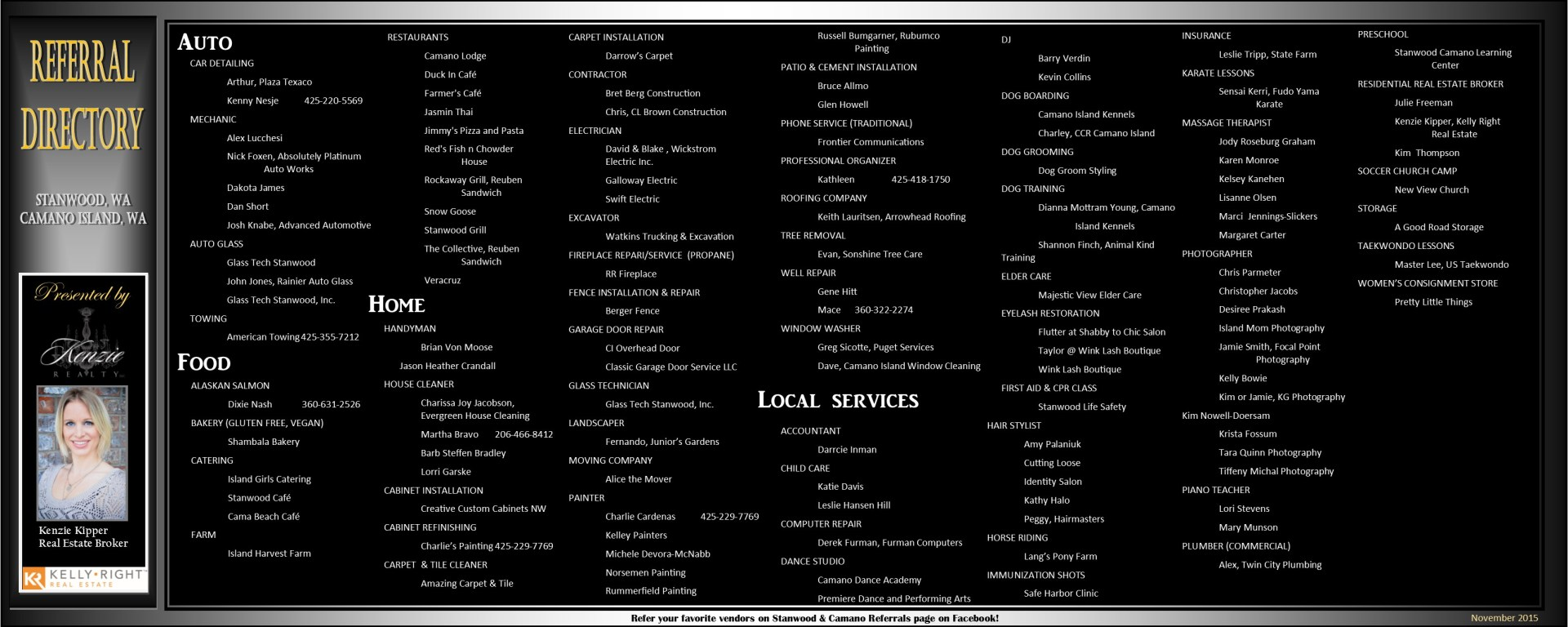 november 2015 referral directory