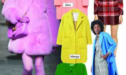 LE MANTEAU: ON OSE LA COULEUR!