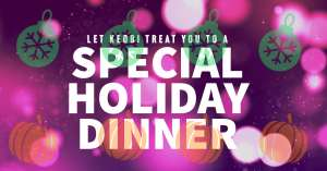 Special Holiday Catering Service