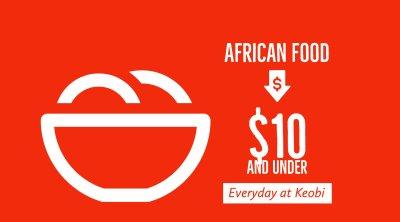 Nigerian Foods $10 and under