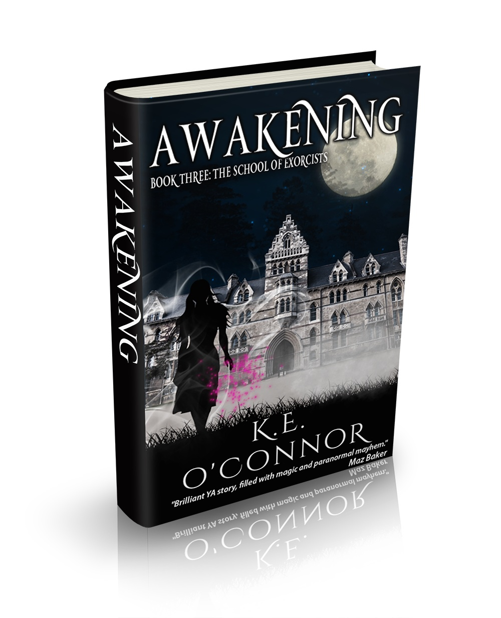 K E O'Connor School of Exorcists paranormal romance and adventure