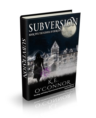 K E O'Connor author YA paranormal romance and adventure novel