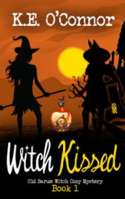 cozy witch mystery book