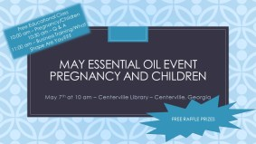 May Essential Oil Event
