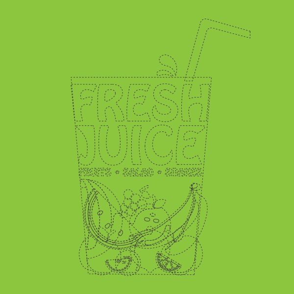 Fresh Juice Logo Design by Keon Designs 03