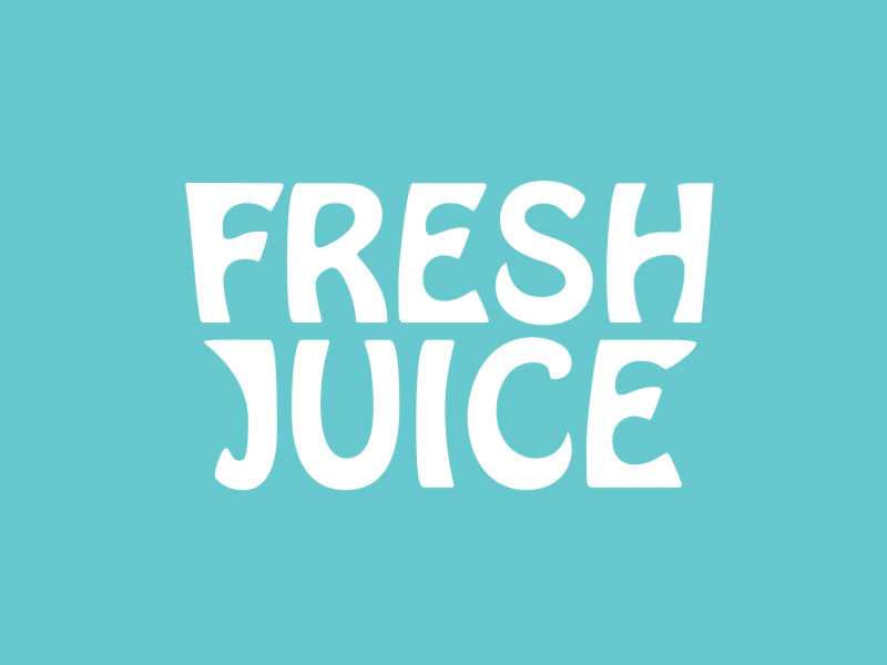 keon designs fresh juice graphic