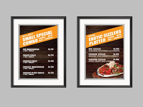 Food Outlet Design Poster1