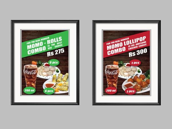 Food Outlet Design Poster3
