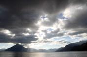 Awe inspiring lake Panajachel, Guatemala.