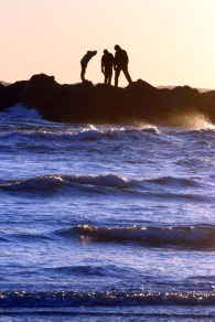Crashing Waves and Silhouettes