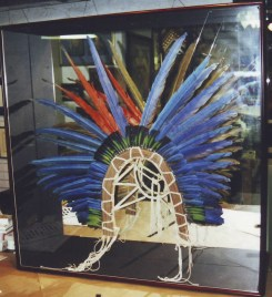 Framed Native American Headdress