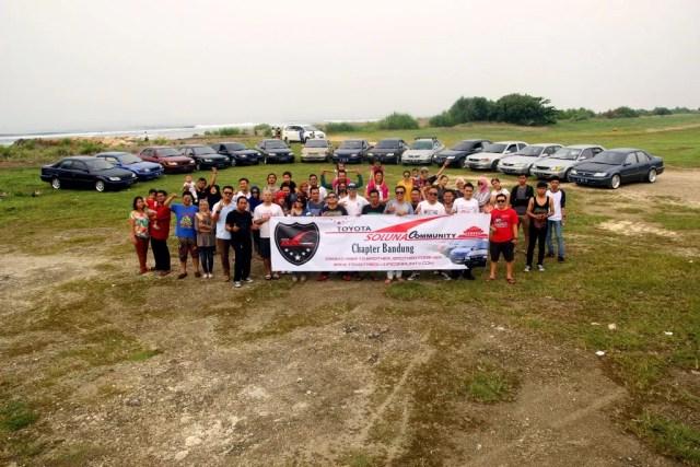 TSC Chapter Bandung berkunjung ke Pangandaran