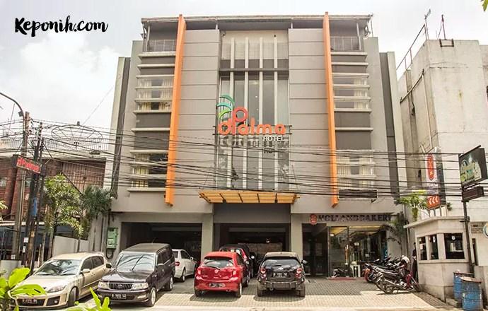 Review D'Palma Hotel, review hotel , hotel di bandung