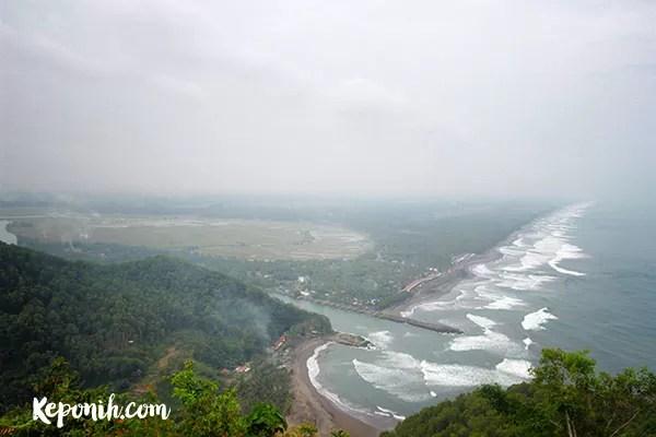 Pantai Menganti Kebumen, pantai karang agung, kebumen, wisata desa, pantai jawa tengah