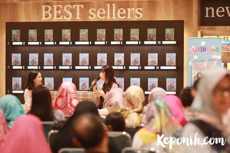 Launching Buku Great Mom Strong Son, Buku Hebat Sahabat Ibu