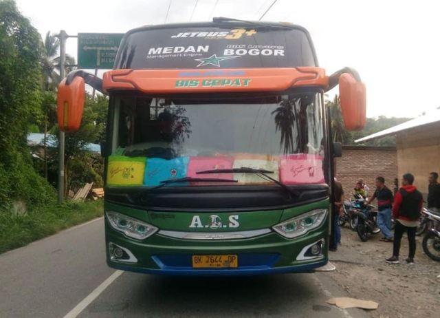 Bus ALS Medan Bogor - Sutan Baginda Batubara