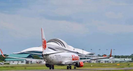 Bandar Udara Tjilik Riwut Palangkaraya, Kalimantan Tengah. Penerbangan ke Palangkaraya semakin ramai.