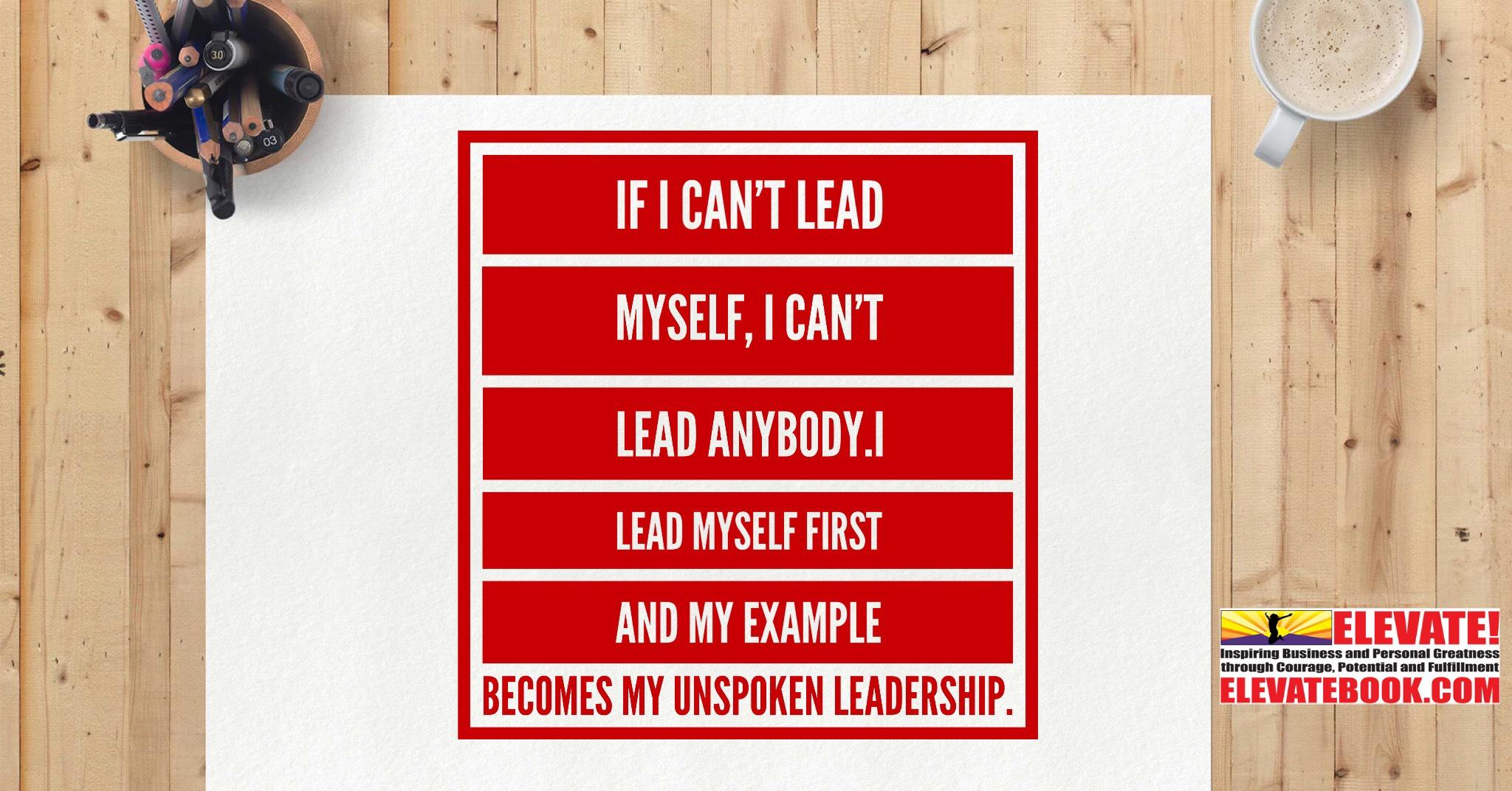 Lead Thyself