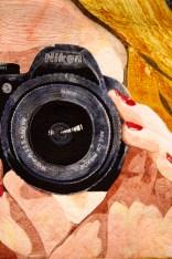Self Portrait, Kate Themel