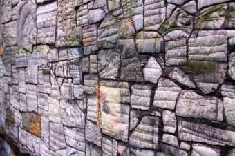 Wailing Wall of Krakow, Detail