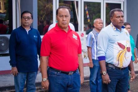 Apel gabungan Pemerintah Daerah Kabupaten Kepulauan Yapen dan sekaligus pencanangan secara resmi oleh Bupati sebagai tanda dimulainya Pekan Sub Imunisasi Polio di Tahun 2019