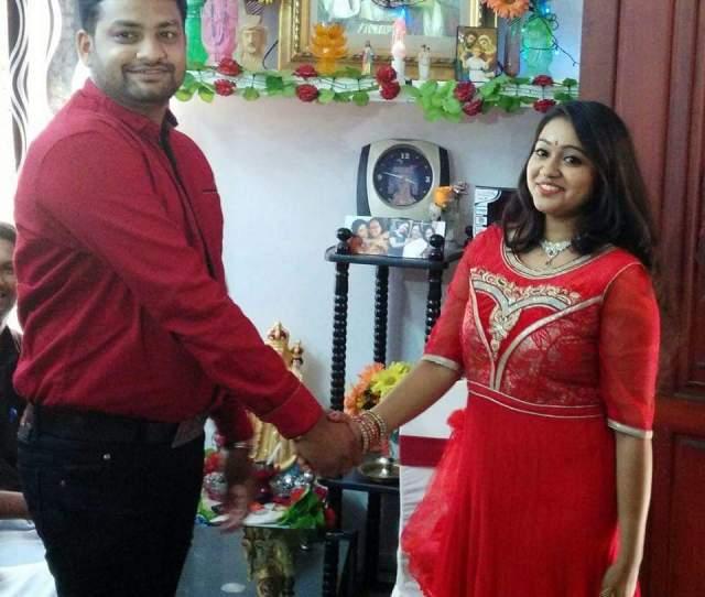 Chandanamazha Amrutha Meghna Engagement Photos 013