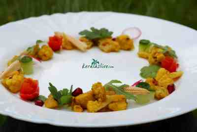 Poriyal a simple South Indian spiced stir fry. Easy to cook and great to serve in a style..