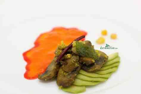 Love mushrooms? Koon fry/ Spicy sautéed mushrooms is so easy to cook and tasty! Serve this tasty spicy sautéed mushrooms as a side dish or appetizer - so versatile!!!