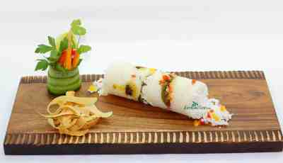 Puttu is the general term for a variety of steamed rice and coconut dishes, both savory and sweet from Kerala the southern state of India.