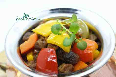 Soya chunks stir fry is a delicious main course dish you can make anytime.