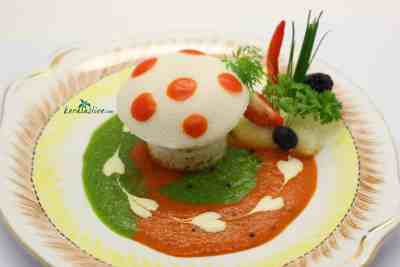 how to make Idli and chutney