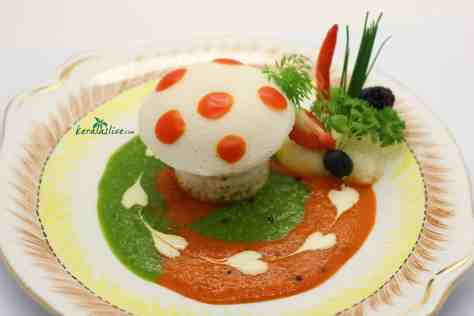 Idli - A south Indian steamed cake of rice, usually served with sambhar. Popular as both a breakfast or snack food, idli are made by steaming a fermented batter...