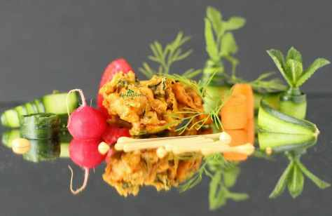 This delicious onion and leek bhaji is a classic recipe that is full of flavour and so easy to make. With amazing combination of spices, they make a great starter.